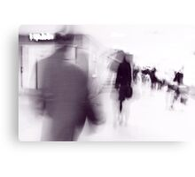 Moving People I Canvas Print