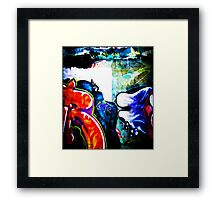 Graffiti. Street Art in Australia 3 Framed Print
