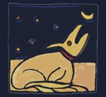 DOG MOON ART  by SofiaYoushi