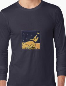 DOG MOON ART  Long Sleeve T-Shirt