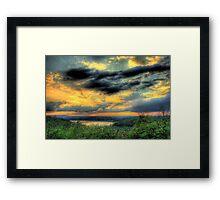 The Sky Dance Framed Print