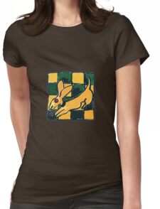 YELLOW DOG JUMP FLY Womens Fitted T-Shirt