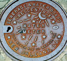 True New Orleans Sewer Cover by Jeremy Deihl