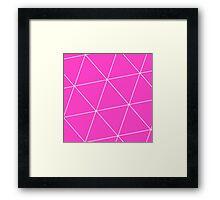 Ion Triangle Framed Print
