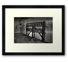 Battery Room Framed Print