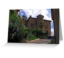The Chateau at Seix Greeting Card