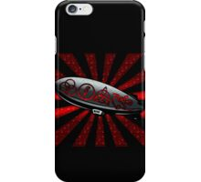 ANCIENT PAGAN SYMBOLS ON A ZEPPELIN - REEL STEEL/RED POP iPhone Case/Skin