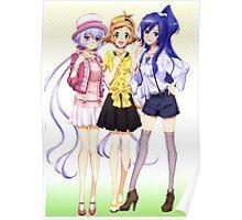 Senki Zesshou Symphogear cute Poster