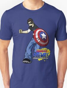 FanboysInc Assemble DW in Action T-Shirt