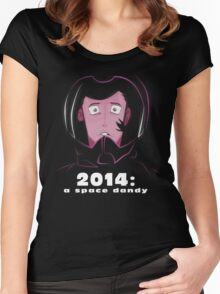 2014: A Space Dandy Women's Fitted Scoop T-Shirt