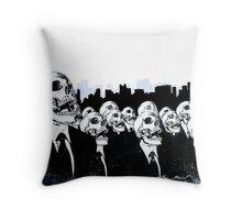 We Live No More Throw Pillow
