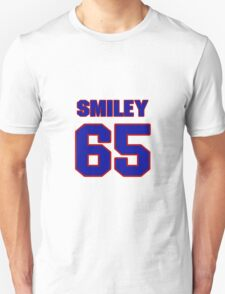 National football player Justin Smiley jersey 65 T-Shirt
