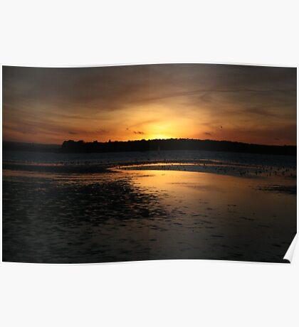 sunset I Poster