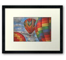 Readington Balloon Festival #13 Framed Print