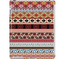 Floral Knitting Pattern iPad Case/Skin