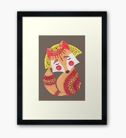 The Little Wolf Framed Print