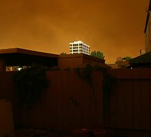 San Diego Wildfires 2003 #1 by Dennis  Greenhill
