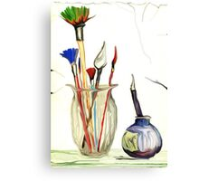 Paint Brushes Canvas Print
