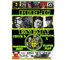 Public Enemy Poster Poster