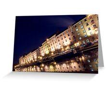 Speirs Wharf - Glasgow, Scotland Greeting Card