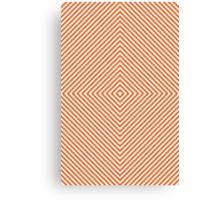 Orange Diamond Canvas Print