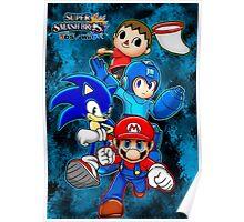 Super Smash Bros Poster