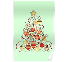 Elegant Christmas Tree Poster