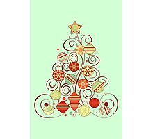 Elegant Christmas Tree Photographic Print