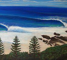 Snapper Rocks, Australia by Clark Takashima