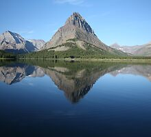 Swiftcurrent Lake Glacier National Park, Montana by Jessica Lynn