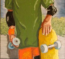 skater Boy by Rita Deegan