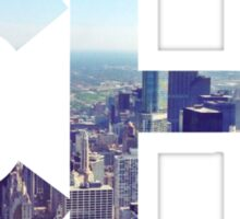 CHI Skyline Sticker