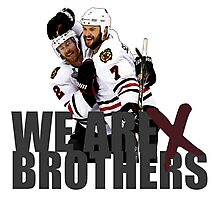 We are Brothers Photographic Print