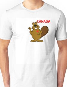 CANADA BEAVER Unisex T-Shirt