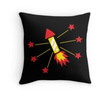 Fireworks! Bang! Throw Pillow