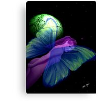 Faerie and Green Cheese Canvas Print