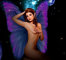 Faerie With Bedroom Eyes by Tray Mead