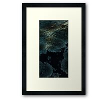 0136 - HDR Panorama - Lichen 7 Framed Print