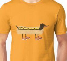 Portrait of a Wiener Dog Unisex T-Shirt