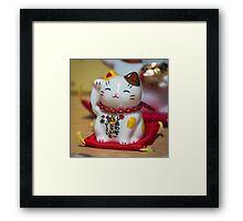 Maneki Neko #1 Framed Print