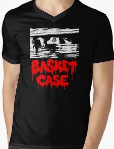 BASKET CASE Mens V-Neck T-Shirt