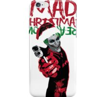 Mad Christmas  iPhone Case/Skin