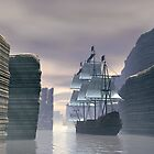 Sailing into the Narrows by Walter Colvin