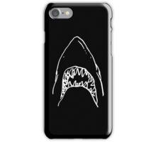 Shark - Black iPhone Case/Skin
