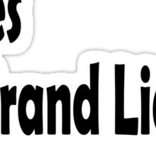 The new lies... Sticker