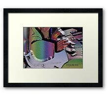 PIANISSIMO COMEDY Framed Print