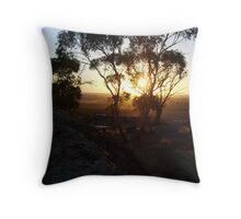 rays of sun Throw Pillow