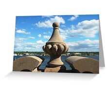 Within Castle Walls Greeting Card