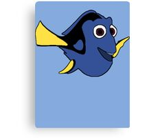 Hi I'm Dory and... Canvas Print