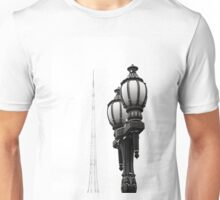 Melbourne Spire and lamp Unisex T-Shirt